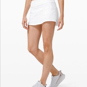 "Lululemon Pace Rival Skirt MR 4 Way Stretch 13"""